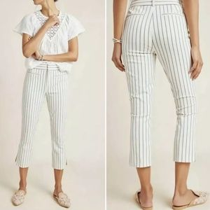 ANTHROPOLOGIE The Essential Slim Cropped Pants